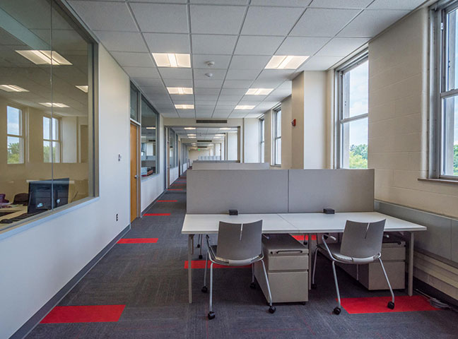 IU Collaborative Office Renovation and  Furniture  Selection